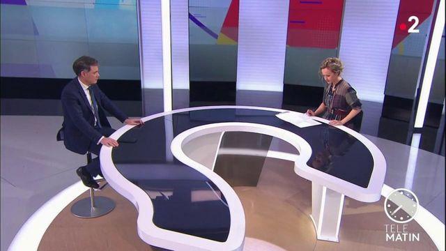 """Olivier Faure (PS) : """"Quand on est ministre de l'Intérieur, on ne peut pas s'en prendre à un dirigeant de l'opposition"""""""