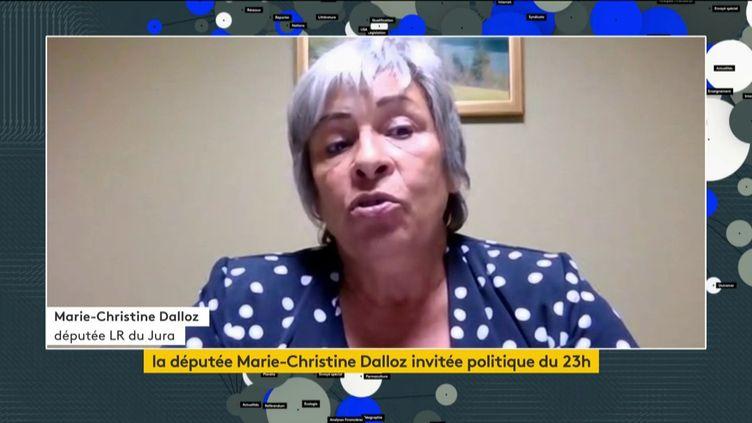 Marie-Christine Dalloz (LR) (FRANCEINFO)