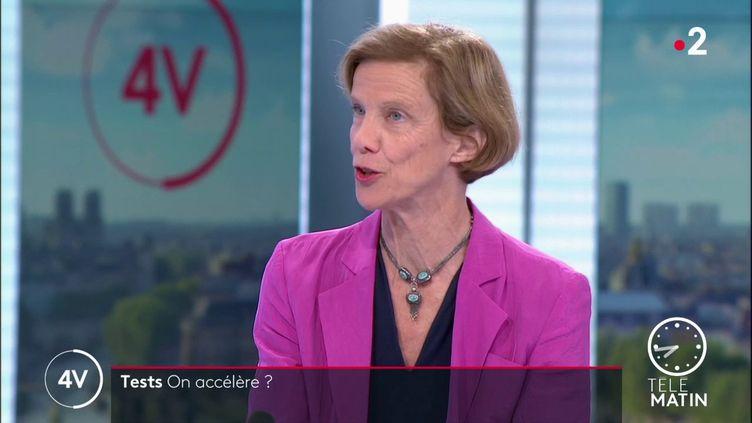 Anne-Claude Crémieux, infectiologue à l'hôpital Saint-Louis à Paris. (France 2)