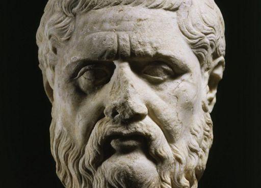 Buste en marbre de Platon (428-348 ap. J.-C.) (AFP - The Art Archive / Staatliche Glypothek Munich / Alfredo Dagli Orti ])