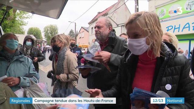 Élections régionales : campagne tendue dans les Hauts-de-France