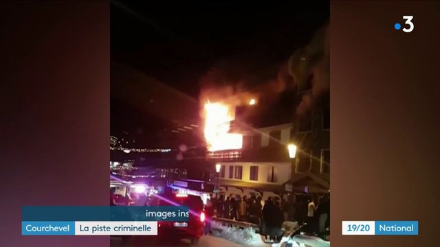 Incendie à Courchevel : l'enquête évolue vers la piste criminelle