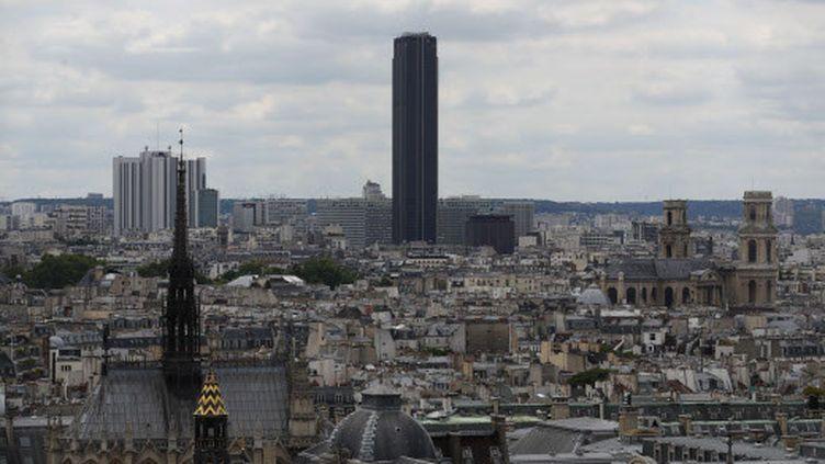 La Tour Montparnasse, dans le 14e arrondissement de Paris, le 31 mai 2019. (FRANCOIS MORI/AP/SIPA / AP)