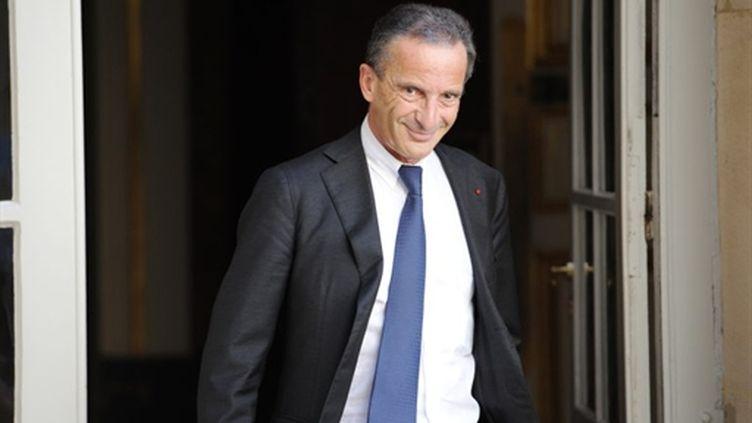 Henri Proglio, PDG d'EDF - 30/07/10 (AFP Bertrand Guay)