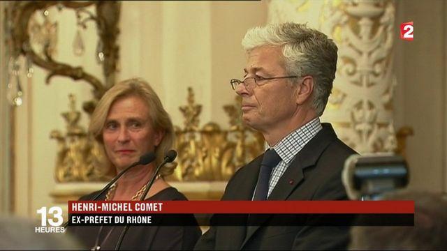 Rhône : les adieux du préfet limogé