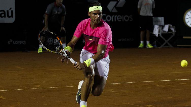 Rafael Nadal, tête de série N1 à l'Open de Rio (GUSTAVO SEREBRENICK / BRAZIL PHOTO PRESS)