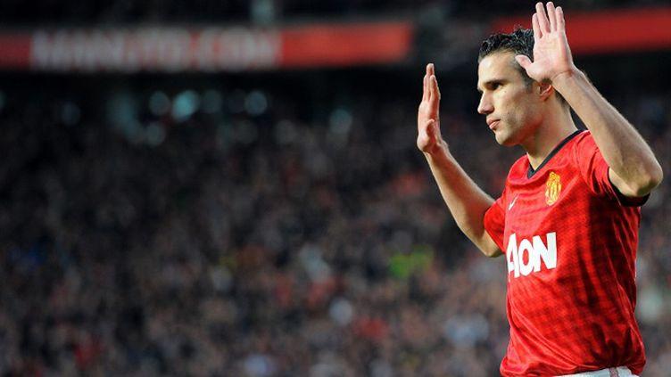 Robin van Persie (Manchester United)  (ANDREW YATES / AFP)