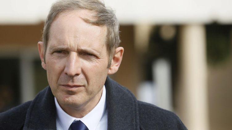 Philippe de La Grange, le maire du Luc (Var), le 30 mars 2014. ( MAXPPP)