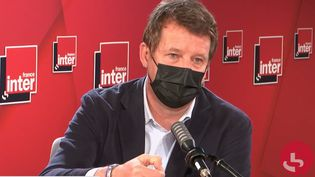 Yannick Jadot, député européen EELV, le 29 mars sur France Inter. (FRANCEINTER / RADIOFRANCE)
