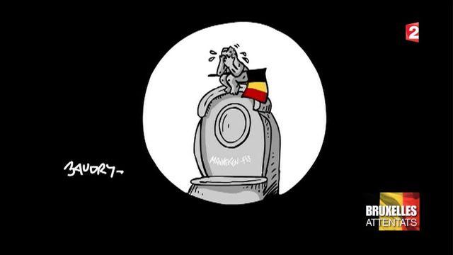 L'hommage du monde à la Belgique