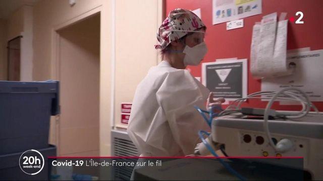 Île-de-France : face à l'afflux de patients, les services de réanimation sont au bord de la saturation