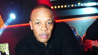 Dr Dre le 21 février 2014 à Paris, au Club 79.  (Anthony Ghnassia / Sipa)