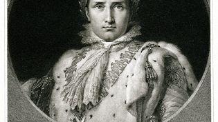 Gravure de 1834 représentant Napoléon 1er, mort à 51 ans sur l'Ile de Sainte-Hélène (1769-1821). Militaire et homme d'État français, premier empereur des Français, du 18 mai 1804 au 6 avril 1814 et du 20 mars au 22 juin 1815. (TRAVELER1116 / DIGITAL VISION VECTORS / GETTY IMAGES)