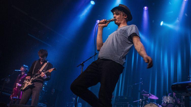 Pete Doherty le 13 mars 2017 à Amsterdam. (PAUL BERGEN / ANP / AFP)