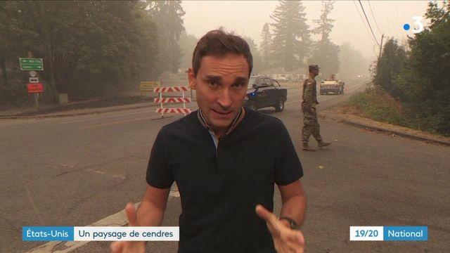 Incendies aux États-Unis : 4 000 kilomètres de superficie partis en fumée