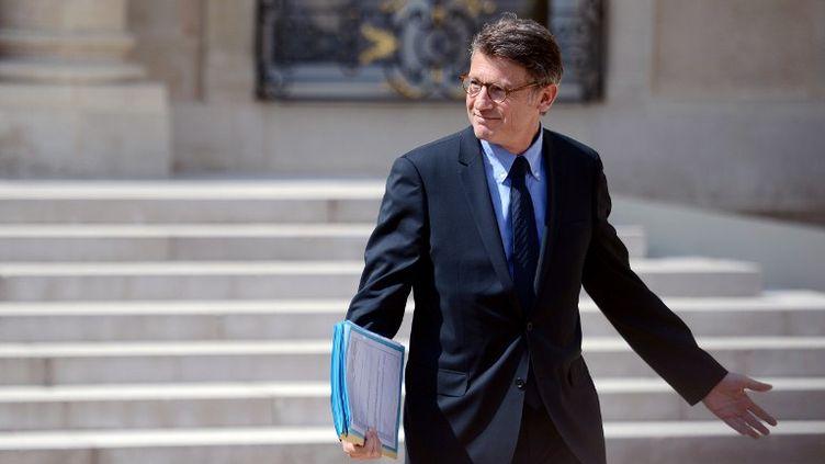Vincent Peillon, le 13 juin 2012, à Paris. (MARTIN BUREAU / AFP)