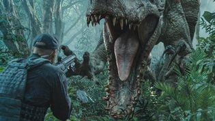 """""""Jurassic World"""" piétine la concurrence au Box Office dès la première semaine.  (Universal Pictures)"""