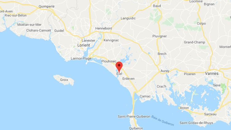 Étel (Morbihan). (GOOGLE MAPS)