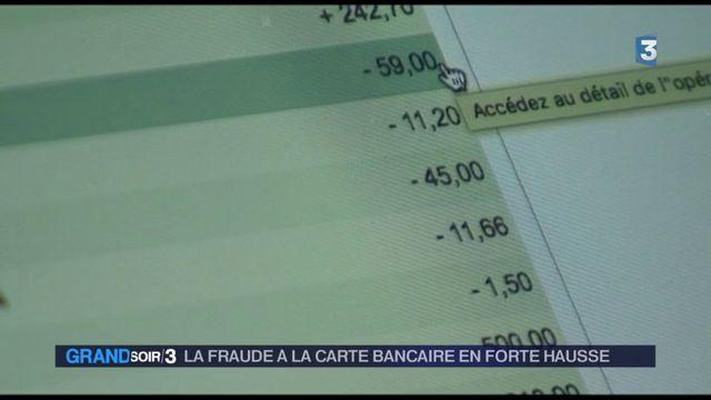 Les fraudes à la carte bancaire en forte hausse