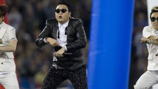 Performance de Psy à Toronto (Canada) le 17 décembre 2012  (JACK BOLAND / TORONTO SUN / QMI AGENCY)