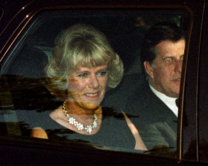 Camilla Parker Bowlesen juillet 1997, un mois avant la mort de Lady Diana. (KIERAN DOHERTY / REUTERS)