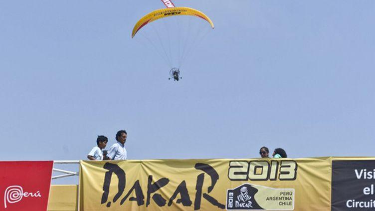 Le Dakar prend son envol (ERNESTO BENAVIDES / AFP)