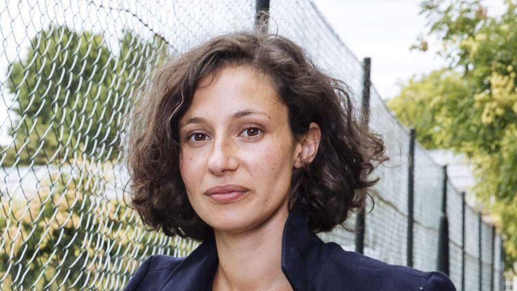 La romancière Alice Zeniter au jardin du Luxembourg en août 2017.  (Lewis Joly / JDD/ Sipa)