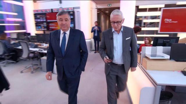 """Jean-François Cirelli, président de BlackRock en France était l'invité de Jean-Paul Chapel mardi 19 décembre dans l'émission """":L'éco""""."""