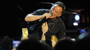 Bruce Springsteen en concert en mai 2013 à Naples  (SALVATORE LAPORTA / AFP)