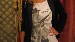 T.shirt BB porté par Sarah Ohana, la directrice artistique de la marque BB  (Corinne Jeammet)