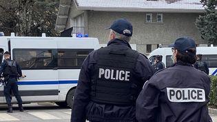 Des policiers (image d'illustration). (RICHARD VIVION / FRANCE-BLEU PAYS DE SAVOIE)