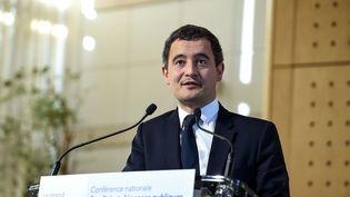 Le ministre de l'Action et des Comptes publics, Gérald Darmanin, le 13 mars 2019 à Paris. (ERIC PIERMONT / AFP)