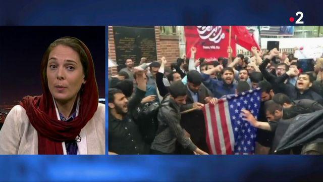 Nucléaire iranien : la colère des Iraniens après le retrait américain de l'accord