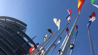 Le Parlement européen, à Strasbourg. (NOÉMIE BONNIN / FRANCE-INFO)