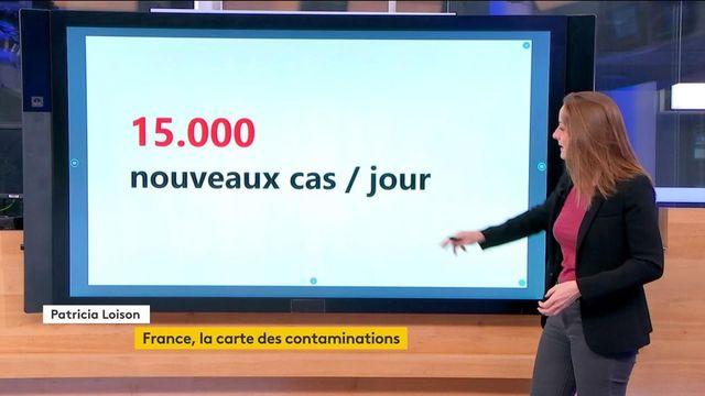 Covid-19 : le nombre de contaminations inquiète en France