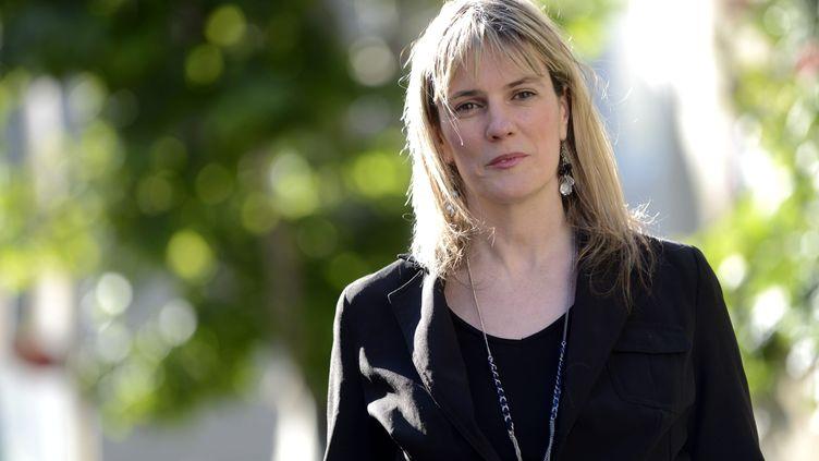 L'ancienne candidate du Rassemblement Bleu Marine à Marseille (Bouches-du-Rhône),Anna Rosso-Roig, le 24 mai 2013. (  MAXPPP)
