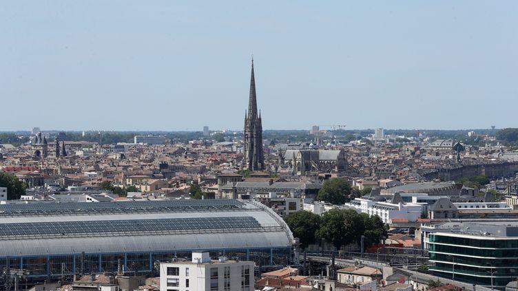 La gare de Bordeaux, le 18 juin 2019 (photo d'illustration). (COTTEREAU FABIEN / MAXPPP)