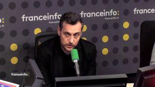 Florent Guéguen, directeur de la Fédération des acteurs de la solidarité (FNARS), le 29 janvier 2019 sur franceinfo. (FRANCEINFO / RADIOFRANCE)