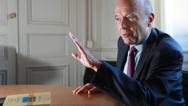 Alain Juppé, le 8 octobre 2018, à Bordeaux. (COTTEREAU FABIEN / MAXPPP)