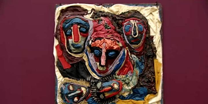Oeuvre de Michel Nadjar exposée au LaM aux côtés des célèbres poupées  (France 3)