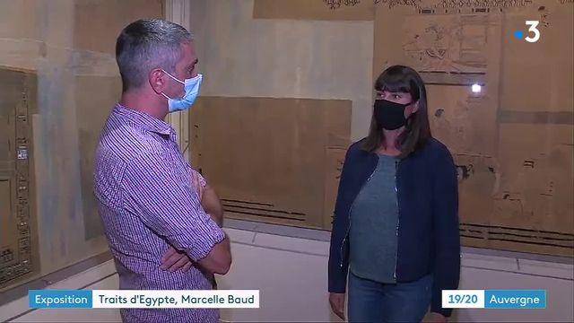 Auvergne : découvrez la vie de l'égyptologue pionnière Marcelle Baut au musée Bargouin