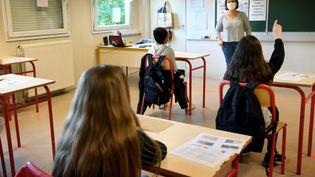 Une classe de 5e à Gerzat (Puy-de-Dôme). Photo d'illustration.  (R?MI DUGNE / MAXPPP)