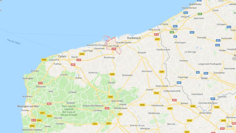 Échanges de tirs dimanche 26 août entre des gendarmes et les occupants d'une voiture. (CAPTURE ECRAN/GOOGLE MAPS)