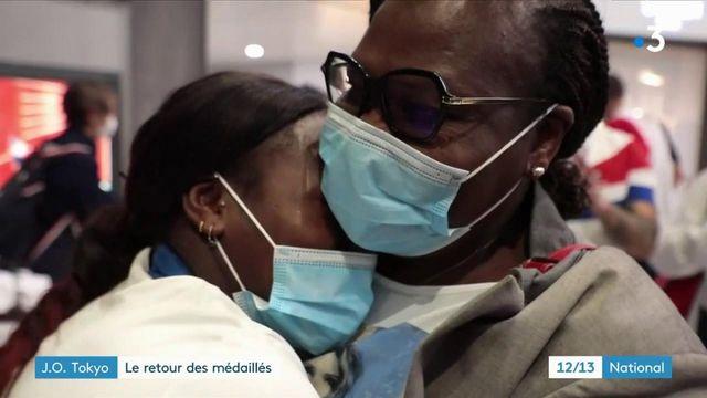 JO de Tokyo : le retour triomphant des athlètes français médaillés