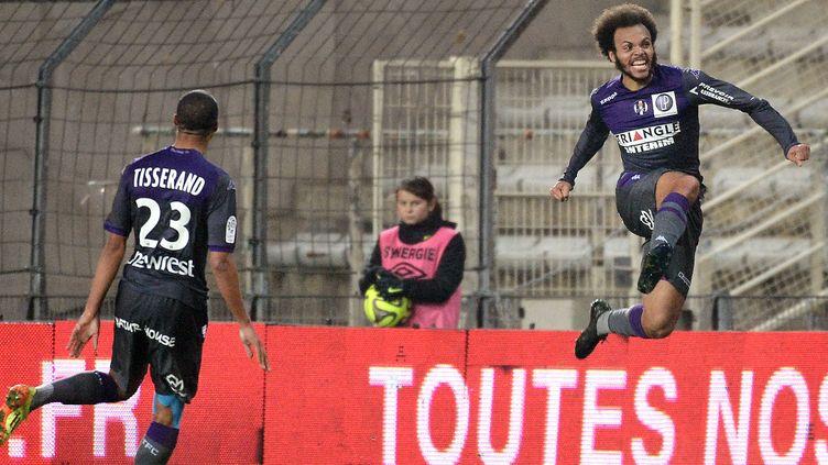 La saison de Braithwaite a-t-elle décollé à Nantes?  (JEAN-SEBASTIEN EVRARD / AFP)