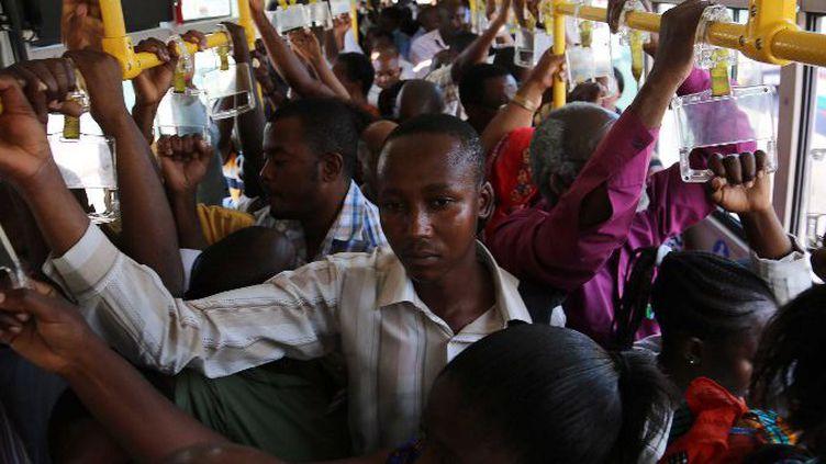 Transport en commun à Dar Es Salaam le 18 Août 2016. C'est seulement récemment que les autorités tanzaniennes ont adopté une rhétorique anti-gay. (Photo AFP Saïd Khalfan)