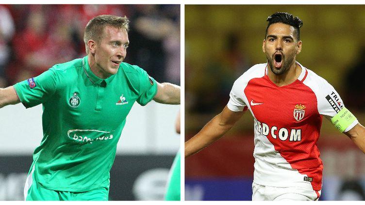 Robert Béric et Radamel Falcao, deux attaquants très talentueux
