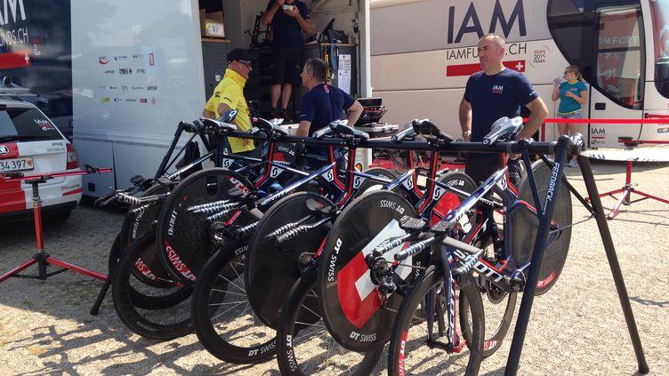 Les vélos de la formation IAM