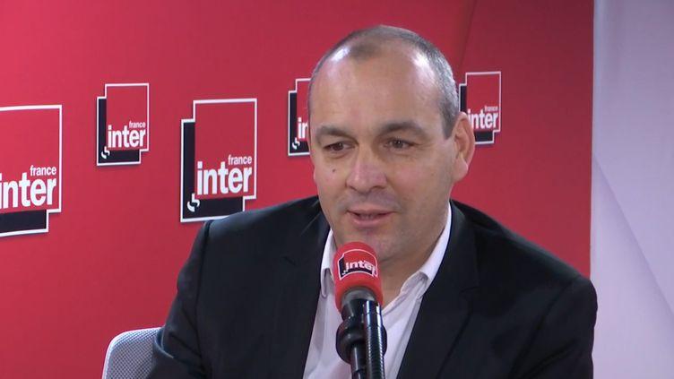 Laurent Berger, secrétaire général de la CFDT, invité de France Inter mardi 5 novembre. (France Inter)