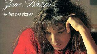 "La pochette du disque ""Ex fan des sixties"", album de Jane Birkin sorti en 1978 (ANDRE BERG / FONTANA RECORDS / MERCURY RECORDS)"